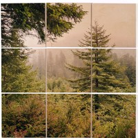 Deny Designs Into the Mist 9-Piece Wood Wall Mural | Nordstrom