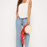 Flowy Pintucked Top