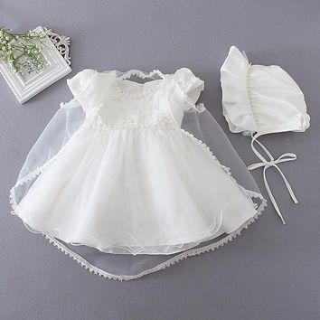 born Baby Girl Baptism Christening Gown