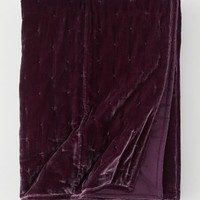 Velvet Bedspread - Burgundy - Home All | H&M US