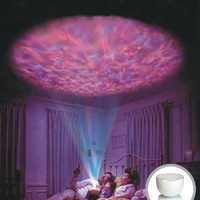 Multicolor Ocean Projector Circular Projection Lamp