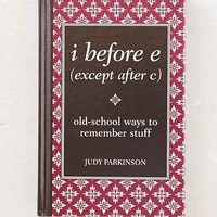I Before E (Except After C) By Judy Parkinson- Assorted One