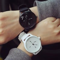 MILER New Fashion Women Men Watches  Candy Color Silicone Strap Watch Simple  Quartz-watch Students lovers'  Watch relogio clock