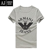 Boys & Men Armani Fashion Casual Shirt Top Tee