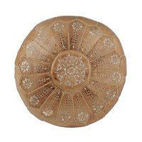 Sahara Embroidered Pouf