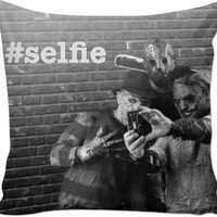 Freddy Krueger , Leather Face And Jason Pillow