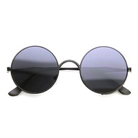 Vintage Inspired Round Metal Can Steampunk Sunglasses 9577