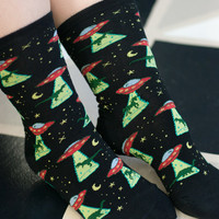 Sock Dreams - UFO Crews - Unique Colorful Socks