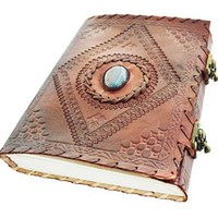 Brown Diary Secret Diary with Clasp Vintage Journal Handmade Notebook Leather Diary