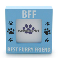 Enesco Our Name is Mud by Lorrie Veasey BFF Best Furry Friend Photo Frame, 3.125-Inch