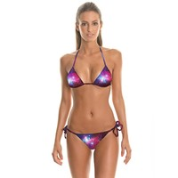 Swimsuit New Arrival Hot Summer Beach Stylish 3D Print Sexy Swimwear Bikini [6049027905]
