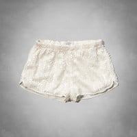 A&F Sequin Drapey Shorts