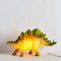 Sight for Saur Eyes Lamp in Stegosaurus | Mod Retro Vintage Decor Accessories | ModCloth.com