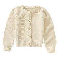 Golden Knit Cardigan