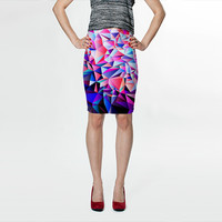 Geometric No.18 by House of Jennifer (Fitted Skirt)