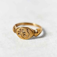 Peg And Awl Wood Sorrel Ring- Bronze