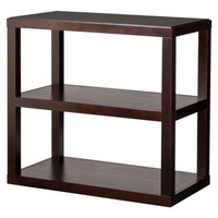 Threshold™ Console Bookcase - Espresso