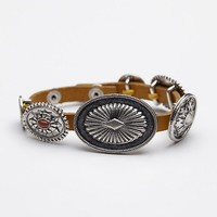 Free People Concho Wrap Bracelet