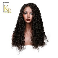 Cool Lace Front Human Hair Wigs For Women Remy Brazilian Deep Wave Wig Bleached Knots Plucked With Baby Hair King Rosa QueenAT_93_12