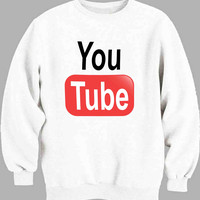 logo Youtube Sweater for Mens Sweater and Womens Sweater ***