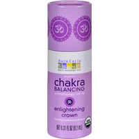 Aura Cacia Organic Chakra Balancing Aromatherapy Roll-on - Enlightening Crown - .31 Oz