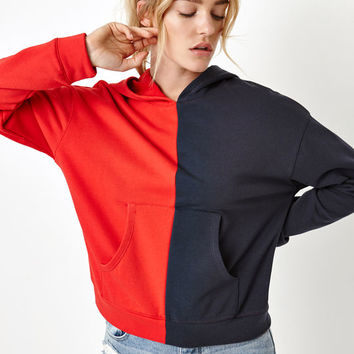 Honey Punch Split Pullover Hoodie at PacSun.com