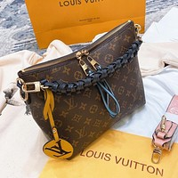 Louis Vuitton LV Fashion Women's Printed Letter Woven Tote Bag