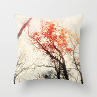 Winter Solstice Throw Pillow by Olivia Joy StClaire