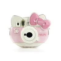 PVC Protector Case Transparent Crystal Shell For Fujifilm Instax Mini Hello Kitty Camera