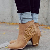 Like the Wind Bootie - Camel