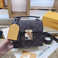 LV Louis Vuitton Canvas Presbyopia Handbag Shoulder Bag