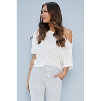 Get Comfortable Top (Ivory)