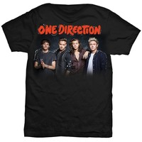 On the Road Again Tour 2015 Squiggles Black T-Shirt - Small
