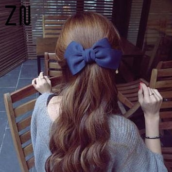 ZN Hair Accessories for Women Hair Ornaments Flower Hair Clip Fashion Cute Hairpins Bow Hairclips for Girls Headwear