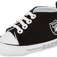 Oakland Raiders Baby Pre Walker Hightops