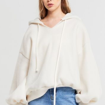 Adora Soft Woven Hoodie Sweatshirt Discover the latest fashion trends online at storets.com