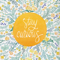 Stay Curious Art Print by Cat Coquillette | Society6