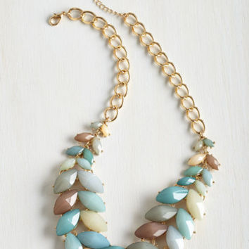 Statement Berry Good Harvest Necklace in Breezy by ModCloth