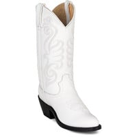 Women's Classic Western Boot in White by Durango