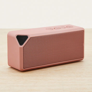 UO Rose Gold Portable Speaker | Urban Outfitters