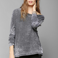 Project Social T Thermal Boyfriend Tee  - Urban Outfitters
