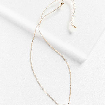 Aura Delicate Chain Necklace   Urban Outfitters