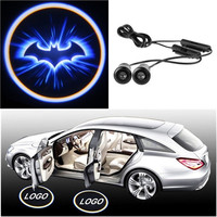 New 2x LED Car Door Welcome Laser Projector Logo Ghost Shadow Light For Batman = 1927807684