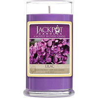 Lilac Candle with Ring Inside (Surprise Jewelry Valued at $15 to $5,000) Ring Size 8