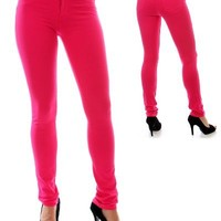 G2 Fashion Square Women's Fitted Skinny Jeggings