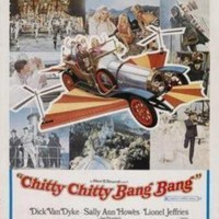 Chitty Chitty Bang Bang movie poster Sign 8in x 12in