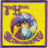 Jimi Hendrix Are You Experienced Embroidered Patch CD-P1138