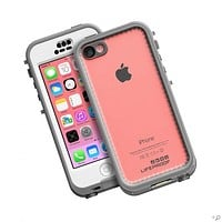 The White/Clear iPhone 5c nüüd LifeProof Case