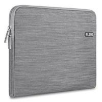 Plemo Sleeve Case Bag Cover for 13-13.3 Inch Laptop / MacBook / Surface Book / Notebook / Ultrabook with Denim Fabric, Gray