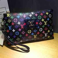 Louis Vuitton LV  Fashion Women Leather Purse